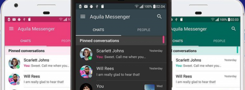 Aquila Messenger is a Messaging Application for Twitter
