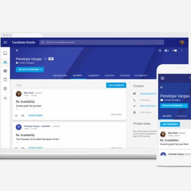 Google Hire is a New Recruiting Application for G Suite Customers