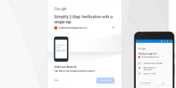 Google Prompt is Now the Primary Choice for 2-Step Authentication