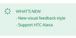 Latest HTC Edge Sense Update Adds Support for Amazon Alexa, Adds a New Visual Feedback Style