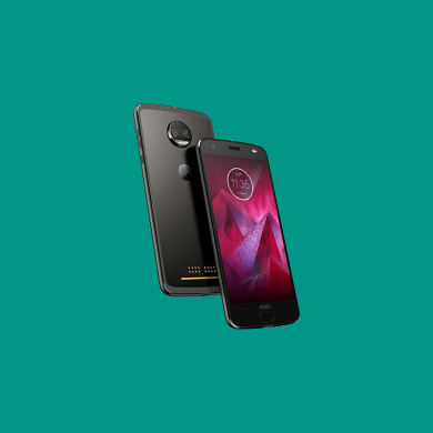 "It Looks like the Moto Z2 Force also has ""Jelly Scrolling"", Inverted Refresh Direction"