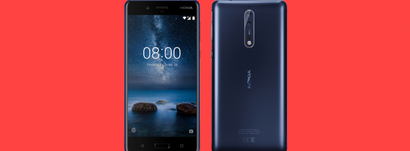 Nokia 8 Shown off in New Render; Rumored to be Announced on July 31