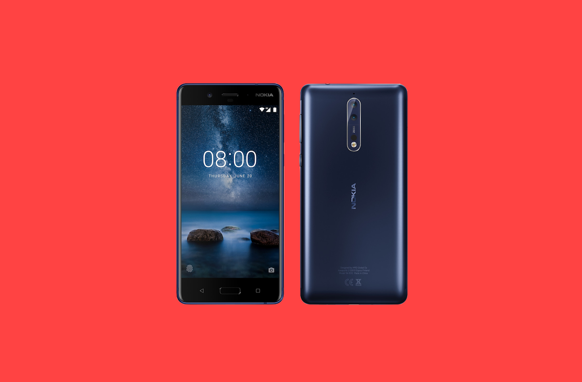 Nokia 8 Shown off in New Render; Rumored to be Announced ...