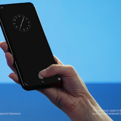 Vivo's Prototype Device Showcases New Under-display Fingerprint Scanner