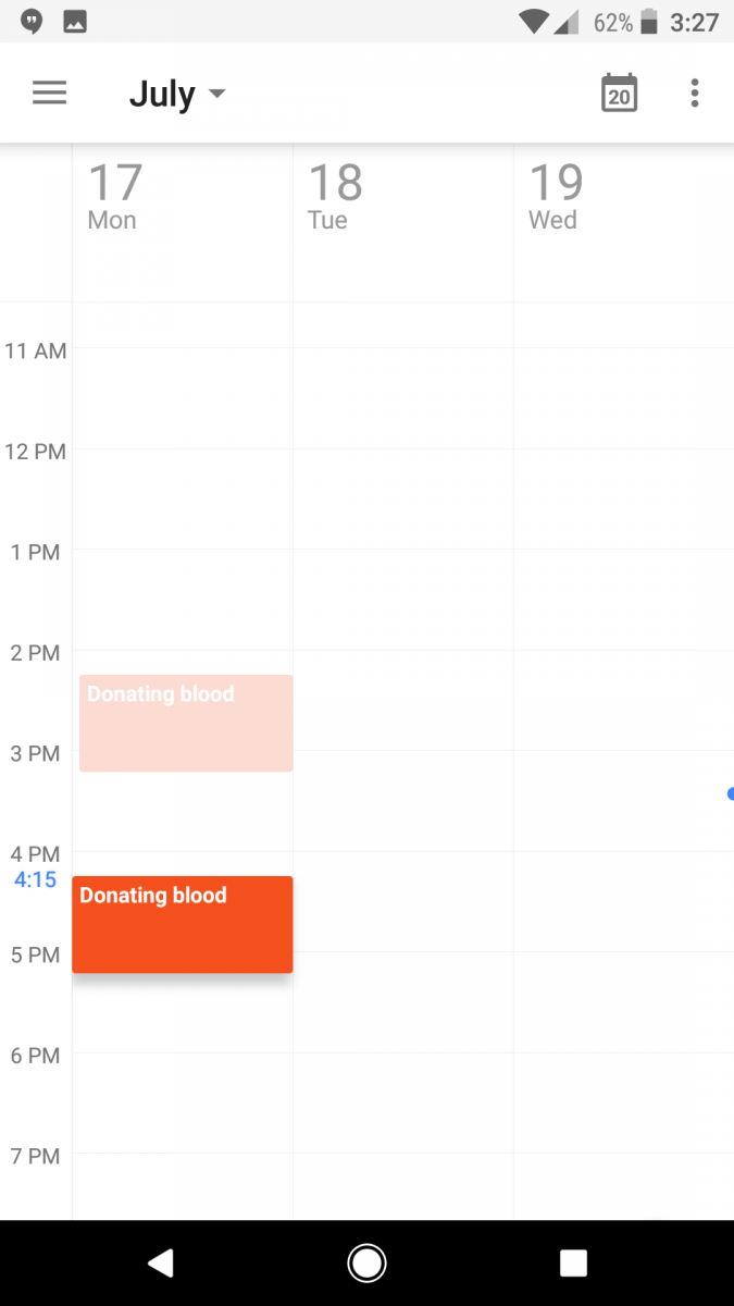 how to change the look of google calendar