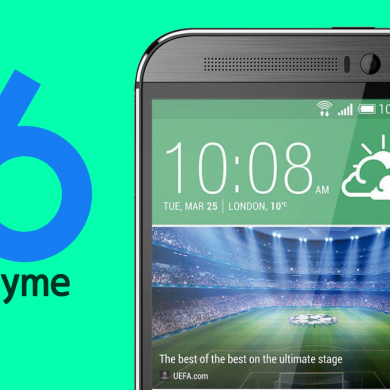Flyme6 ROM Available for the HTC One M8 (Single SIM Variants)