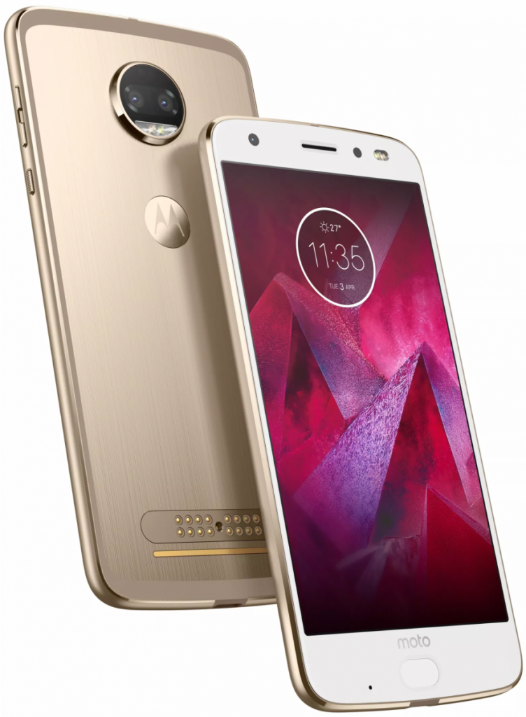 moto z2 force white