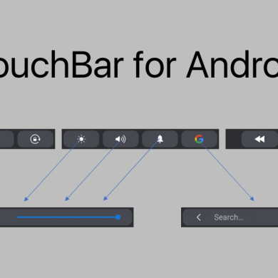 Easily Control Your Phone's Settings With TouchBar for Android