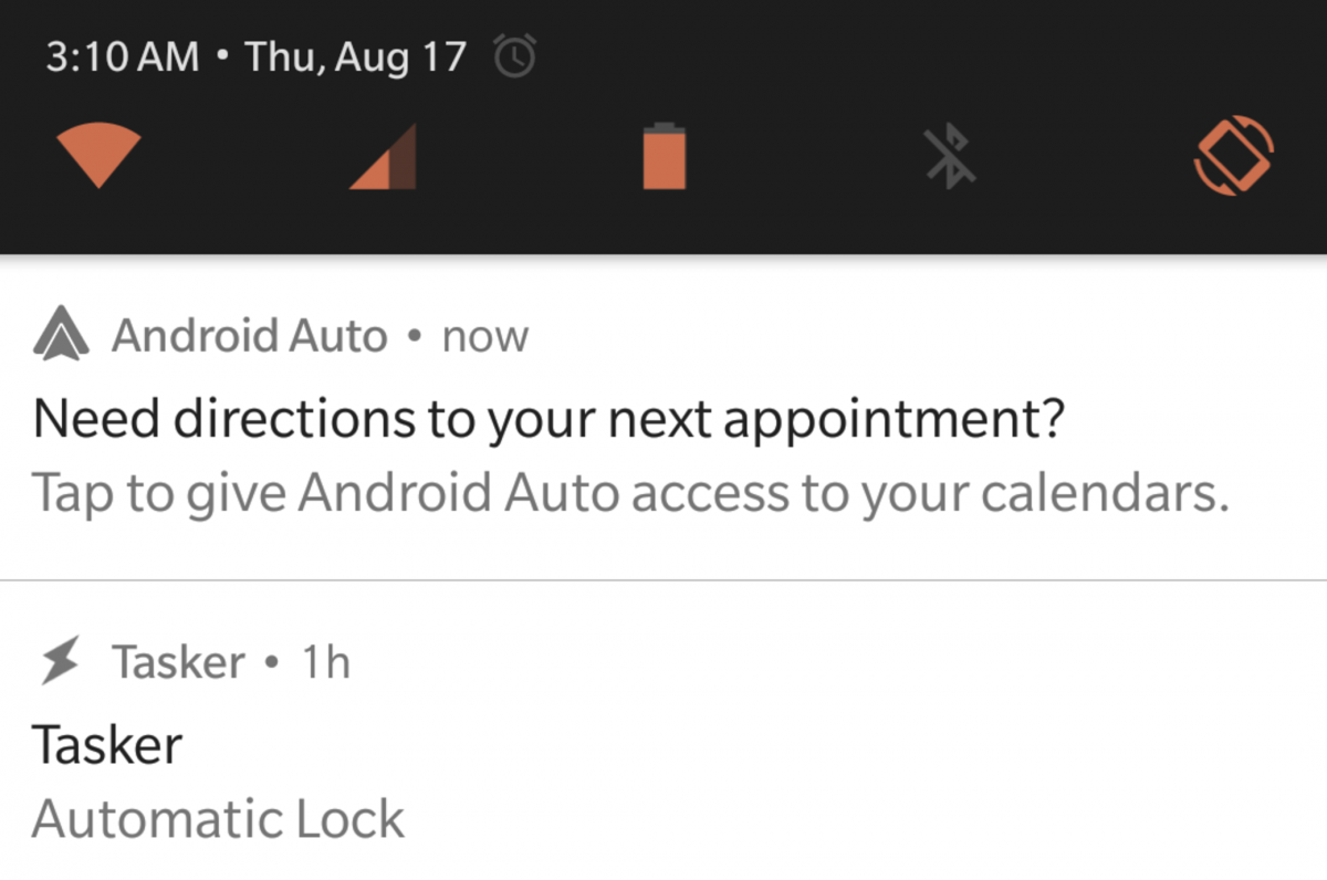 android auto testing upcoming calendar event cards. Black Bedroom Furniture Sets. Home Design Ideas