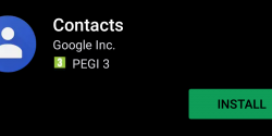 Google Contacts is now Available on any Android 5.0+ Device