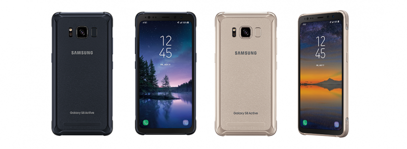 Galaxy S8 Active is Official, AT&T Starts Pre-Orders August 8th