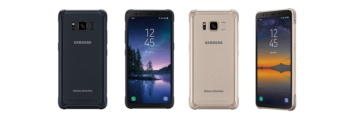 galaxy s8 active is official at t starts pre orders august 8th. Black Bedroom Furniture Sets. Home Design Ideas