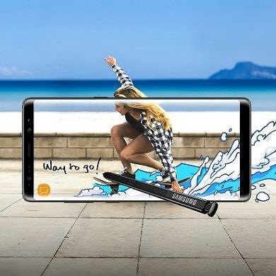 Samsung Launches the new Galaxy Note 8 with an Infinity Display and Dual Rear Cameras