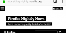 Latest Firefox Nightly Update Receives New Photon UI