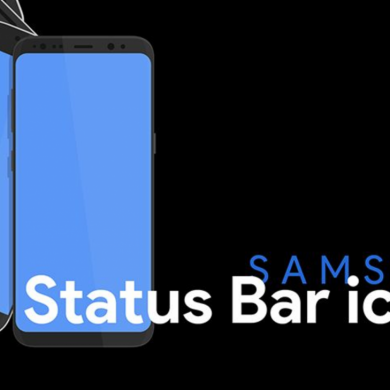Custom Status Bar, Nav Bar, and Quick Setting Icons on any Samsung Nougat Device