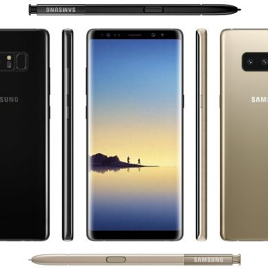 Samsung Galaxy Note 8 Final Hardware Specifications Leaked