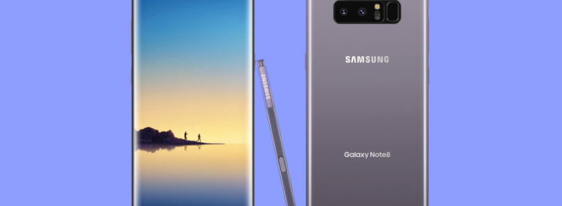 Galaxy Note 8 Wins DisplayMate's Highest Grade Ever, an A+