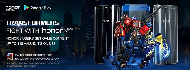 Transformers: Fight with Honor 9