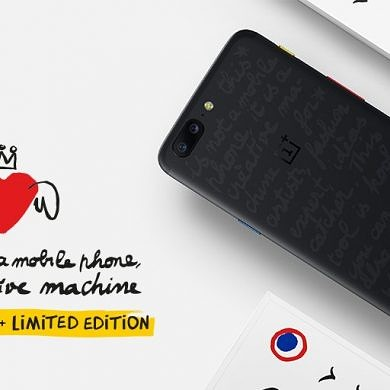 OnePlus Teams Up With Castelbajac for an Exclusive Limited Edition of the OnePlus 5