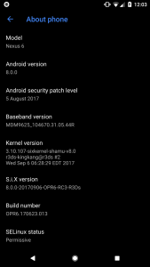 How to get a Dark Theme on Android 8.0 Oreo