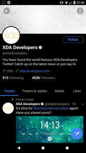 xda: How to Install a Dark Theme on Android Oreo without Root
