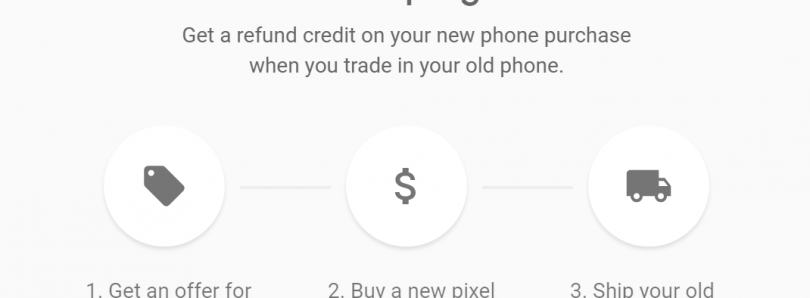 Google Brings its Trade-in Program to the Google Store with Pixel and Pixel XL