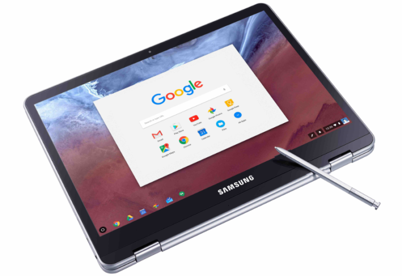 ChromeOS Chromebook Lock Screen Note Taking Stylus
