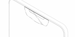 Samsung Design Patent Uses a Sensor Cutout at the Top of the Display