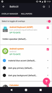 Set up Custom Themes on Android 8.0