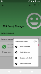 Get Blob Emoji on Whatsapp in Android Oreo