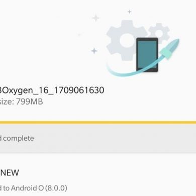 OnePlus 3 Closed Beta Group Receives Android Oreo