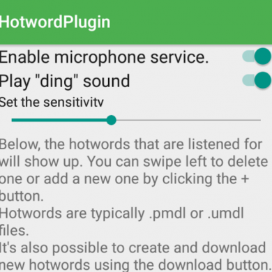 Create Custom Voice Activated Hotwords for Tasker with the Hotword Plugin