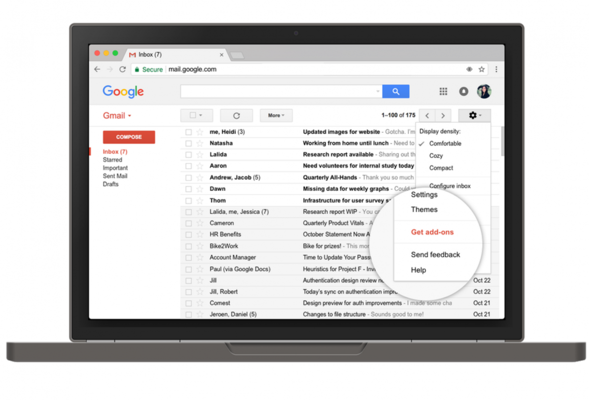 Gmail Add-ons Are A New Way To Work With Business Apps In