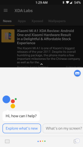 Enable Google Lens in Google Assistant