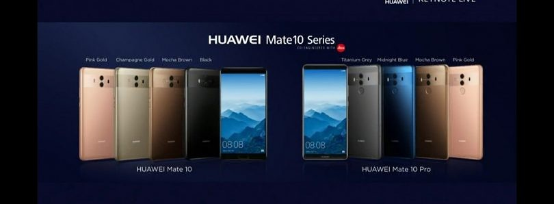 Huawei Mate 10 and Mate 10 Pro are Official — Kirin 970, Huge Displays, Small Bezels & More AI Than Ever