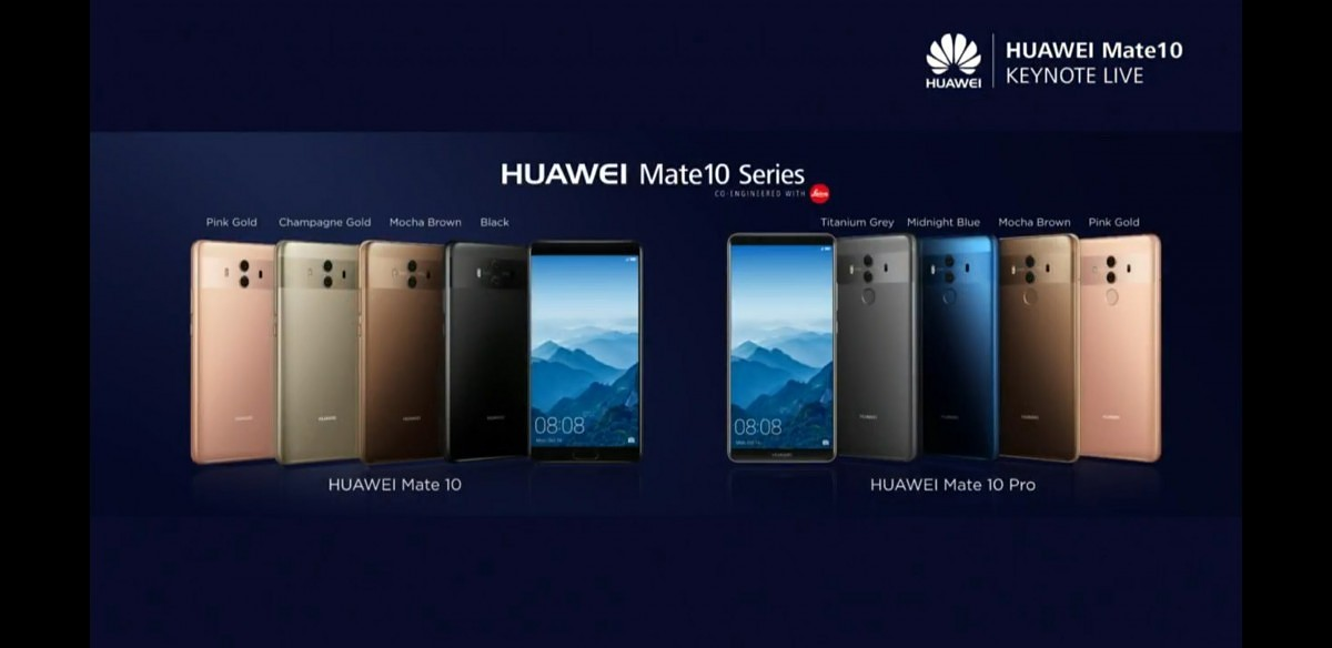 DxOMark Reviews the Cameras of the Huawei Mate 10 Pro