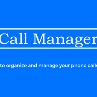 Call Manager Streamlines the Process of Making Multiple Phone Calls