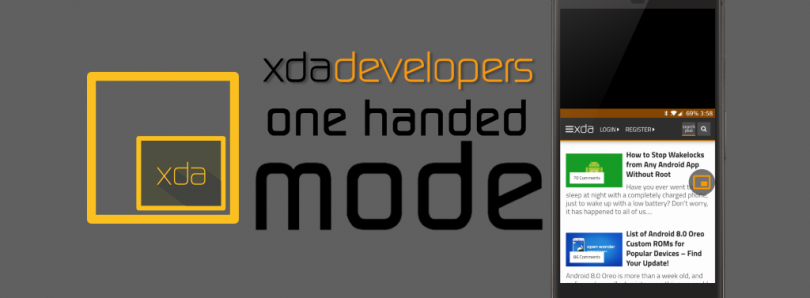 One Handed Mode by XDA Brings Apple's Reachability Feature to Any Android Phone!