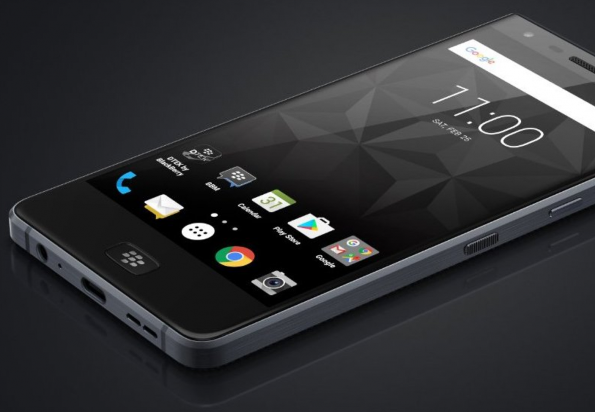 Blackberry Motion Tcl S First All Touchscreen Android