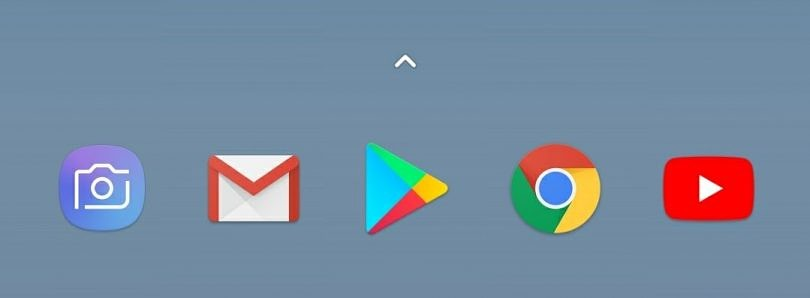 Here's the Google Pixel 2's latest Pixel Launcher with the Bottom Search Bar