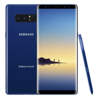 Deepsea Blue Galaxy Note 8 to be Available Exclusively at Best Buy and Samsung.com