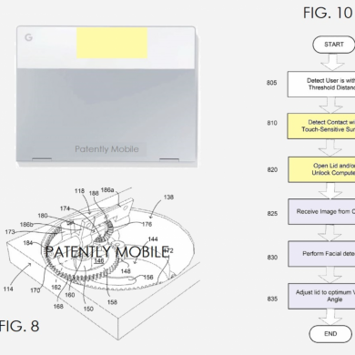 Google Awarded a Patent for an Automated and Motorized Pixelbook Lid