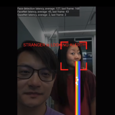 Google Project Detects When Someone is Stealing Glances at Your Phone