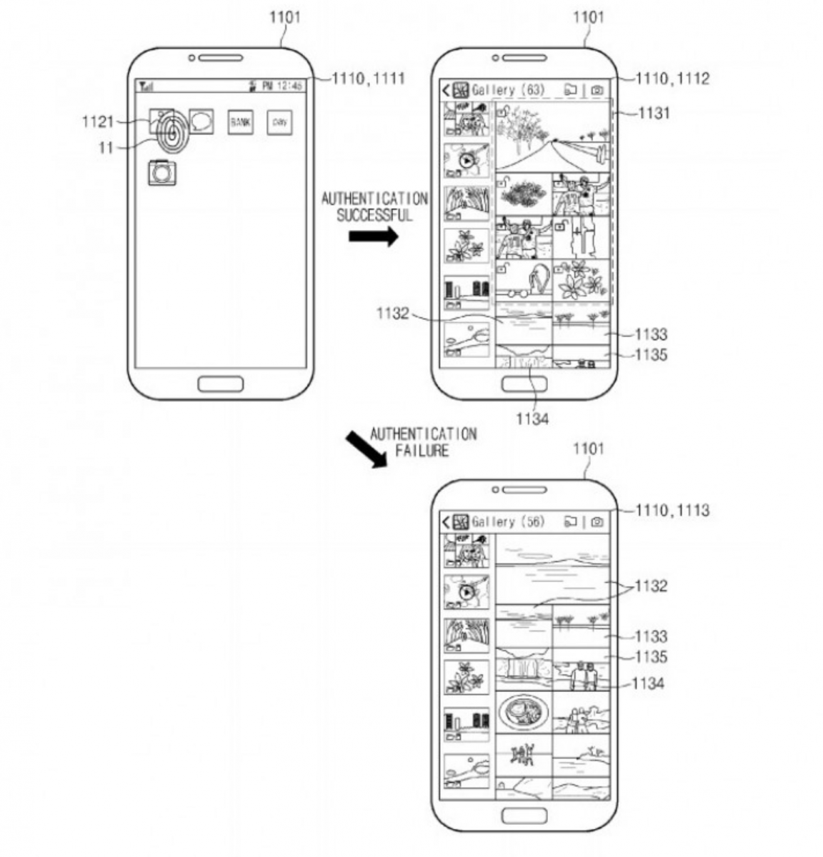 samsung receives patent for under
