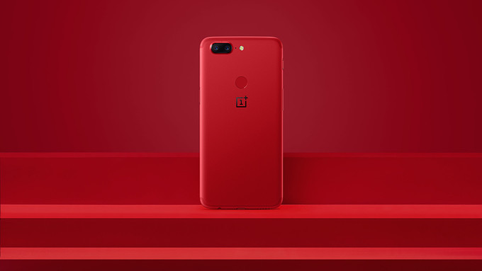 Lava Red OnePlus 5T Launched In Time For Valentine's Day