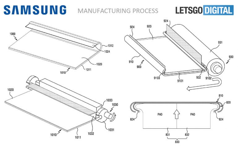 Samsung Patent Shows Fully Curved Smartphone