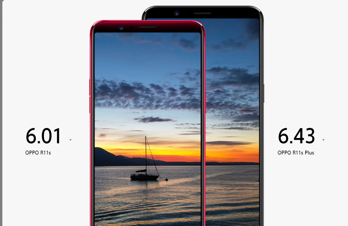 Oppo R11s And R11s Plus Launched With 18 9 Display