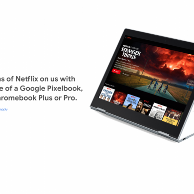 Google is Giving Pixelbook and Chromebook Plus Owners Free Netflix