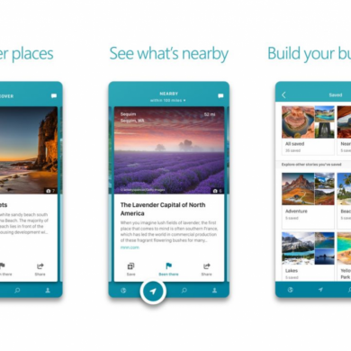 Microsoft Garage's Outings Lets You Explore Places Around the World