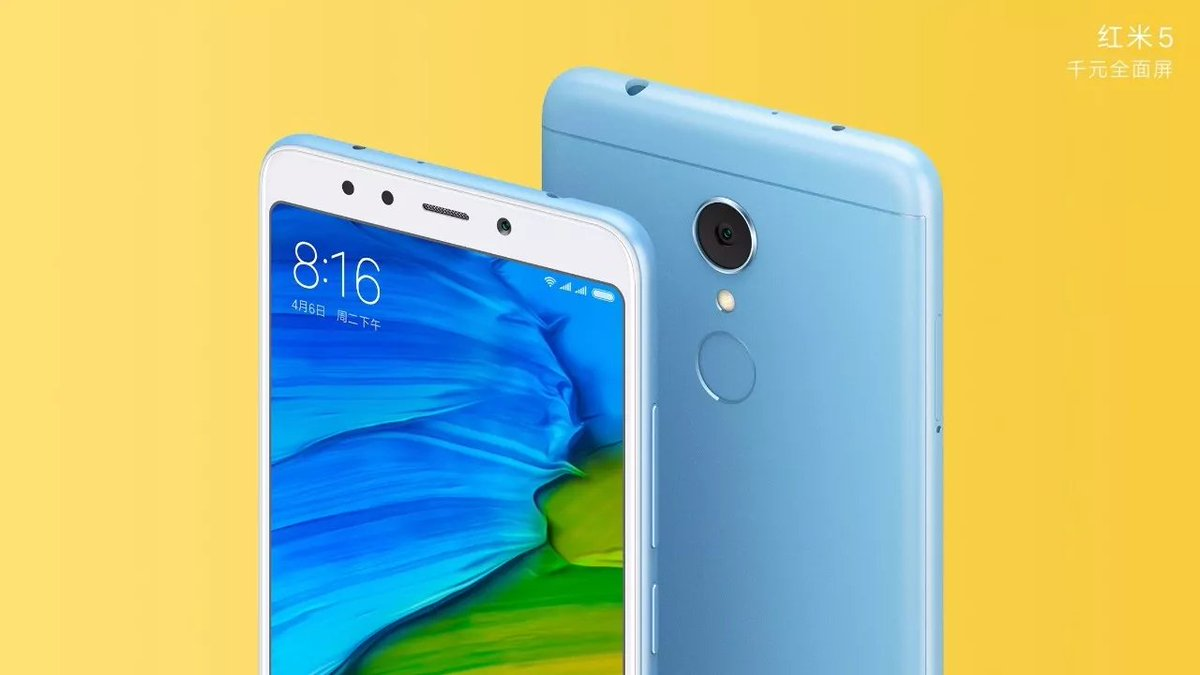 xiaomi redmi 5 and redmi 5 plus sport 18 9 displays